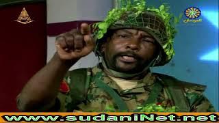 المساعد محمد علي من سلاح المهندسين السوداني في لقاء عن قصيدته الفائزة في عيد الجيش 63