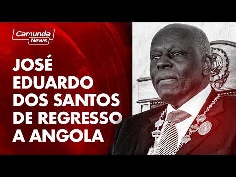 JOSÉ EDUARDO DOS SANTOS DE REGRESSO A ANGOLA