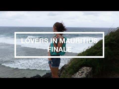 HONEYMOON IN MAURITIUS THE FINALE (50mph winds beach + spider massacre)