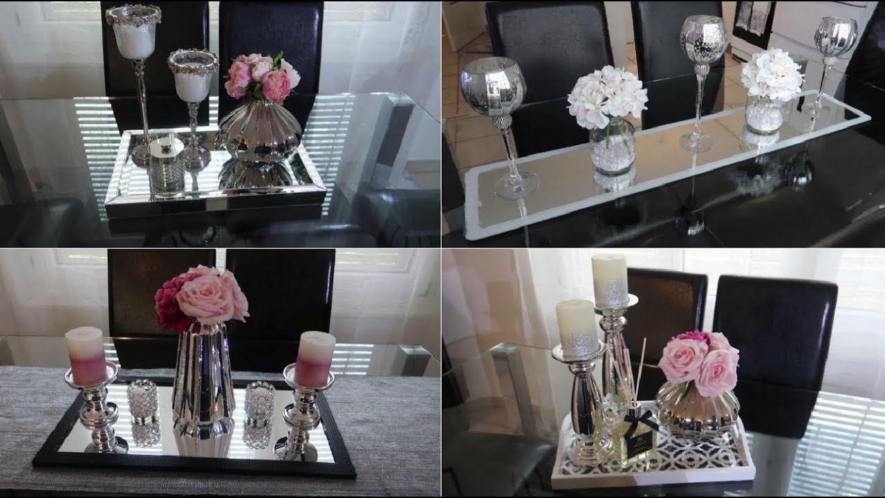 comment decorer la salle a manger idees centre de table decorate dining table centerpiece ideas