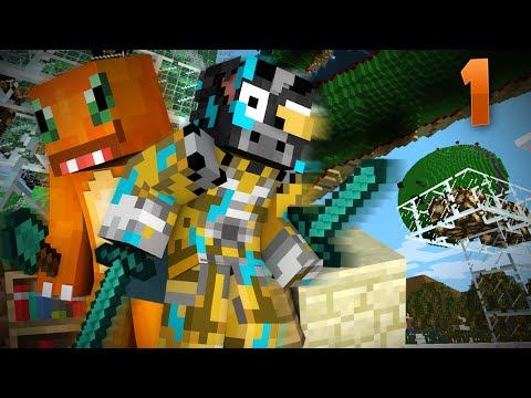 DRAGON BALL Z EN MINECRAFT | APRENDIENDO EL KAMEHAMEHA #1