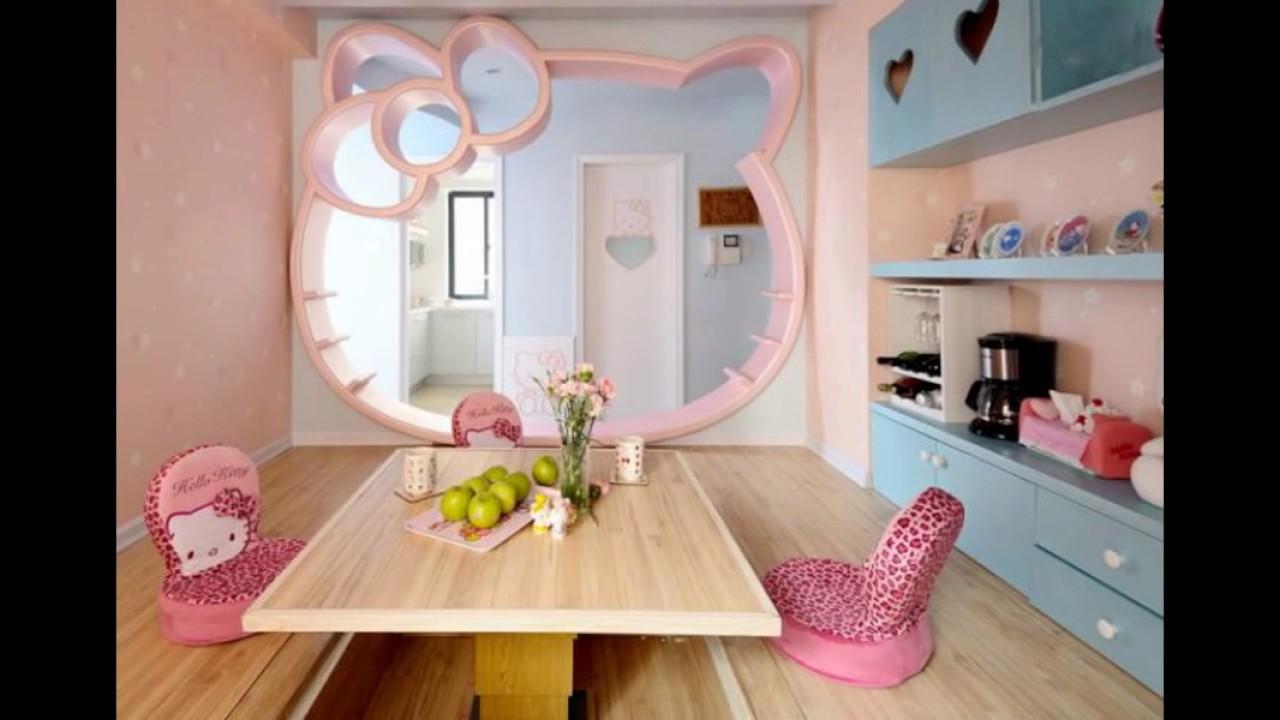 Детская Комната для Девочки (Дизайн Большой Комнаты Девушки)