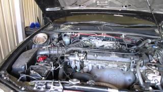 1998 2002 Honda Accord Distributor Cap And Rotor Remove