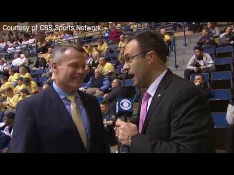 Mount St. Mary's University President Trainor interview with CBS Sports