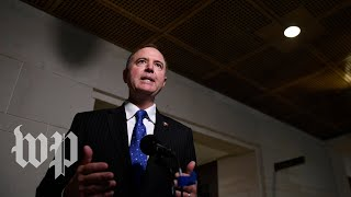 Schiff condemns Mulvaney quid pro quo acknowledgment