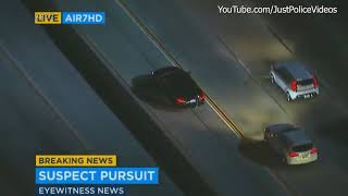 LA Police Chase and Standoff - December 9th 2017