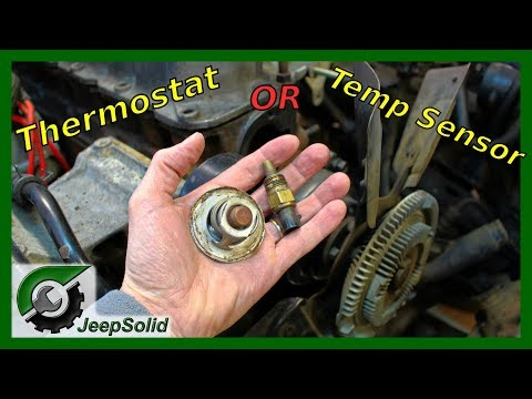 Jeep Temperature: Thermostat or Sensor Issue