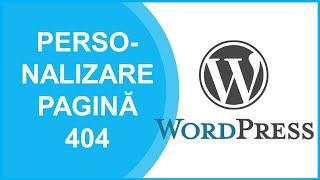 видео 404 страница wordpress
