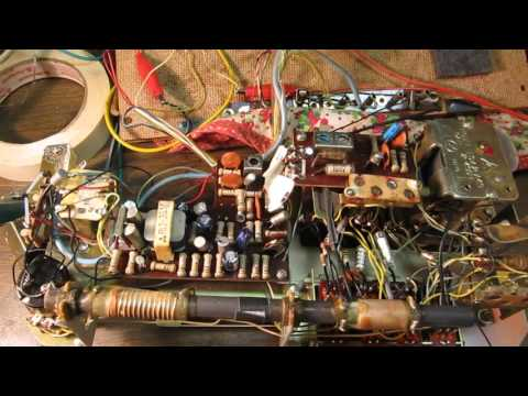 National Panasonic R-450 Transistor radio repair