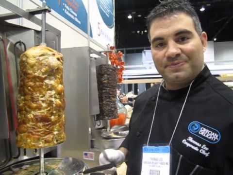 Grecian Delight at the National Restaurant Association Show 2014 in Chicago