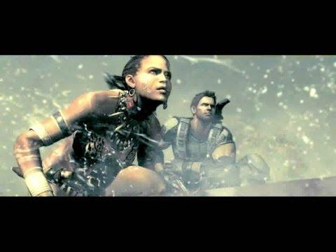 Resident Evil 5 Walkthrough (S-Rank)- Chapter 3-3 (Oil Field Drilling facilities) HD- All Treasures