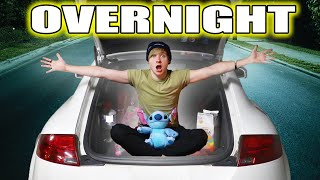 Trapped OVERNIGHT in My Car for 24 HOURS | Sam Golbach