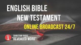 🔴 English Bible New Testament – online broadcast (24/7)