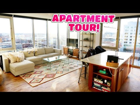 MY 2018 APARTMENT TOUR! COLLEGE APARTMENT TOUR! Nichole Jacklyne