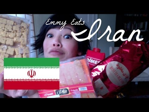 Emmy Eats Persia (Iran) - tasting Iranian snacks & sweets