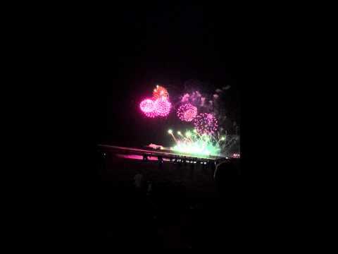 Blackpool fireworks 2014