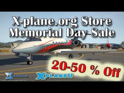 X-plane.org Store Memorial Day Sale (20-50% Off)