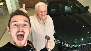 BUYING MY GRANDDAD HIS DREAM CAR!!