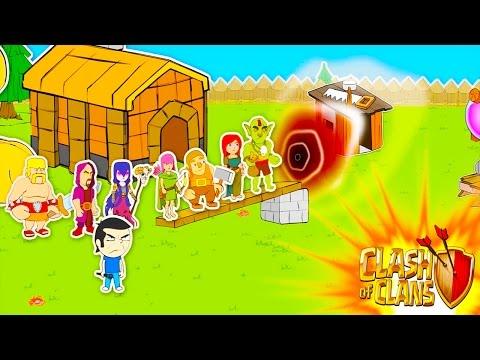 Clash of Clans-VILLAGE PORTAL ANIMATION!