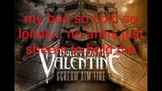 bullet for my valentine hearts burst into fire acoustic lyrics