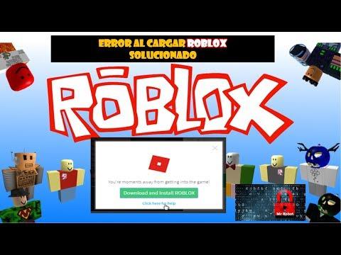 ERROR AL CARGAR ROBLOX PROBLEMA SOLUCIONADO thumbnail