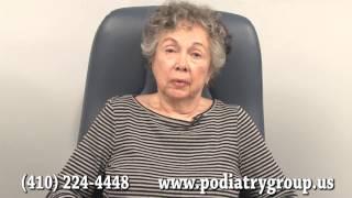 Bursitis and Osteoarthritis Patient - Annapolis, MD - Podiatrist James McKee, DPM