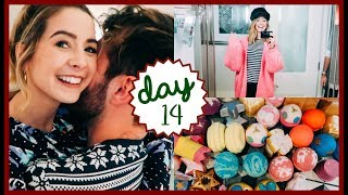 HUGE LUSH HAUL & HELLO LONDON | VLOGMAS