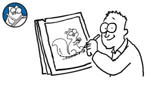 Simon Draws: Squirrels