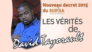 BURIDA - LES VERITES DE DAVID TAYORAULT