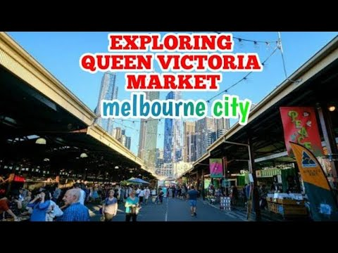 Seafood Market In Queen Victoria/Giant Lobsters/Travel Vlog