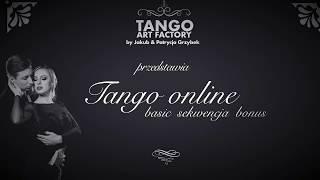 Jakub Grzybek & Patrycja Cisowska- Tango ONline Lesson 7