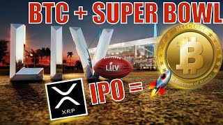 BREAKING NEWS! Bitcoin Super Bowl Gambling! IPO for RIPPLE is GREAT NEWS! + Tim Draper Investments