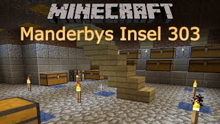 Minecraft   Let's Play #303   Alte Action-Stars, alte Filme    Manderbys Insel   German
