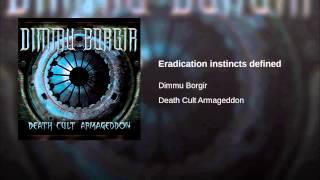 Eradication instincts defined