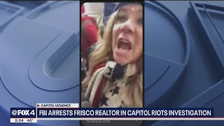 Frisco realtor Jenna Ryan arrested, charged for role in U S  Capitol riot