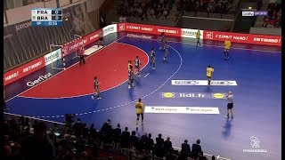 Match amical (F) - France 28-17 Brésil [2018-03-22]