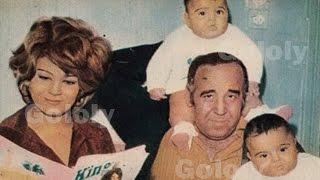 صور نادرة لحسن مصطفى وشاهده مع زوجته ميمى جمال وابنتيه