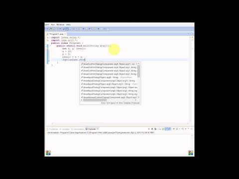 Java Tutorial 3: Basic Math Calculations(Using Variables)