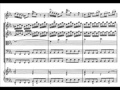 Vivaldi - Inverno - II: Largo (score)