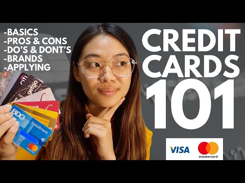 CREDIT CARD FOR BEGINNERS   CREDIT CARD 101 PHILIPPINES   What you need to know