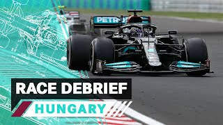 Restarts, Undercuts & More   2021 Hungarian GP F1 Race Debrief