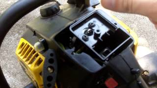 McCulloch Eager Beaver Chainsaw Carburetor Rebuild Part 2 of 2
