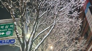 [오늘도스르륵n.12] 눈오는날은 뭐다? 호빵먹방