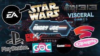 AJS News - EA Cancels 3rd Star Wars Game, Sony Pulls PAX EAST & GDC, GameStop Fail, Stadia Clueless!