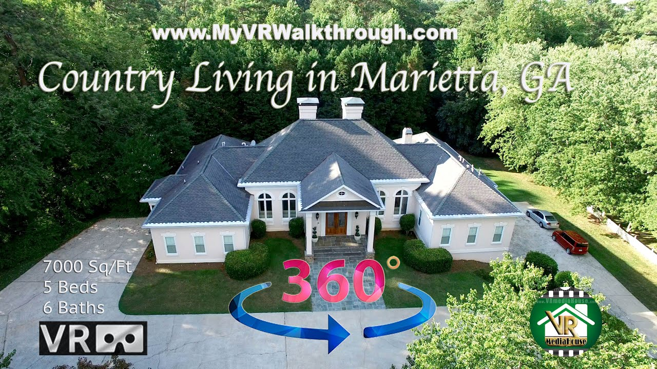 MyVrWalkThrough.com: A 360º Video Tour of Our Beautiful Manor in Marietta Georgia