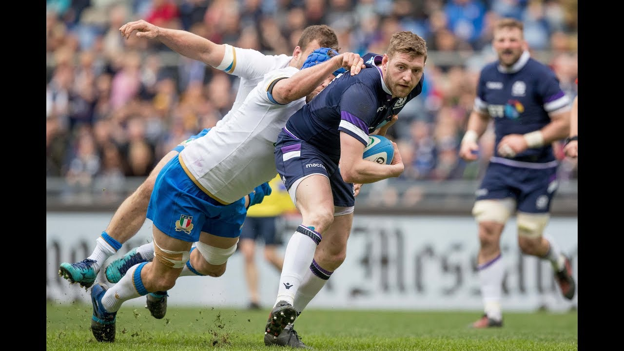 ec1c4ea008b Extended Highlights: Italy v Scotland | NatWest 6 Nations. Guinness Six  Nations