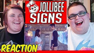 Kwentong Jollibee 2018: Signs REACTION!! 🔥