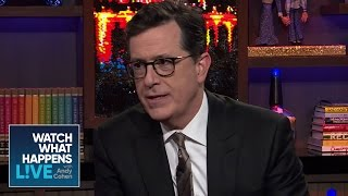 "Stephen Colbert On Filling David Letterman's Shoes On ""The Late Show"" - WWHL"