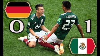 Germany vs Mexico 0 1 • All Goals and Highlights • World Cup 2018