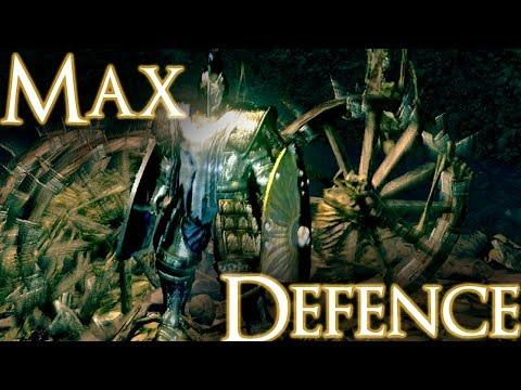 Maximum Possible DEFENCE In Dark Souls!